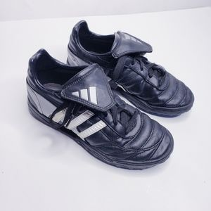 Adidas Black Indoor Soccer Cleats Size 2